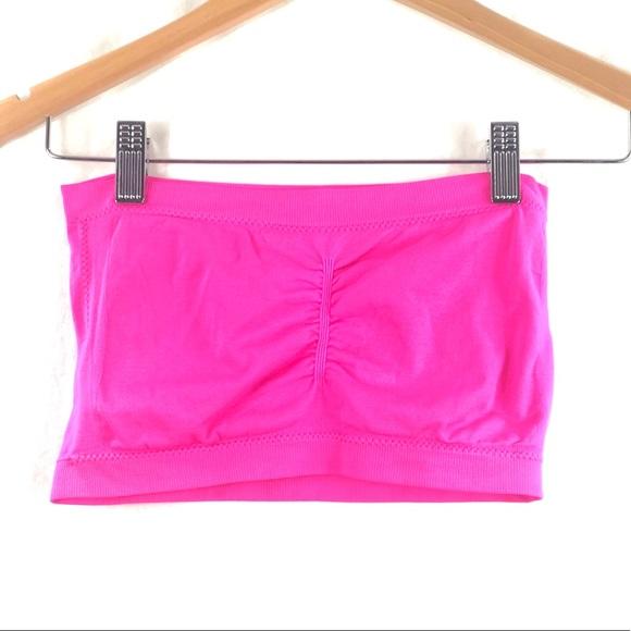 ⭐️ 5/$30- Neon pink bandeau (S/M)